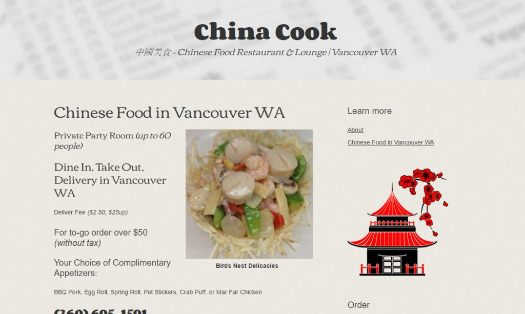China Cook Restaurant and Lounge